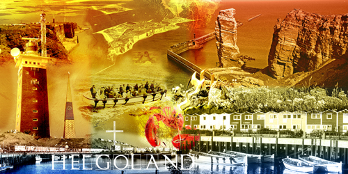 Helgoland Collage quer