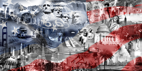 USA Collage quer