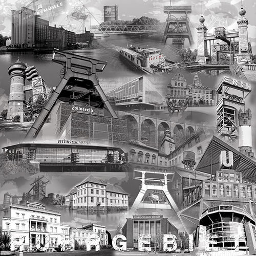 Ruhrgebietscollage sw