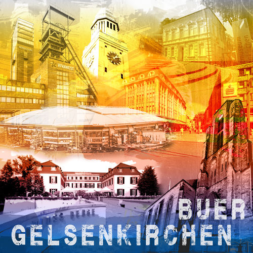 Gelsenkirchen Buer Collage Regenbogen