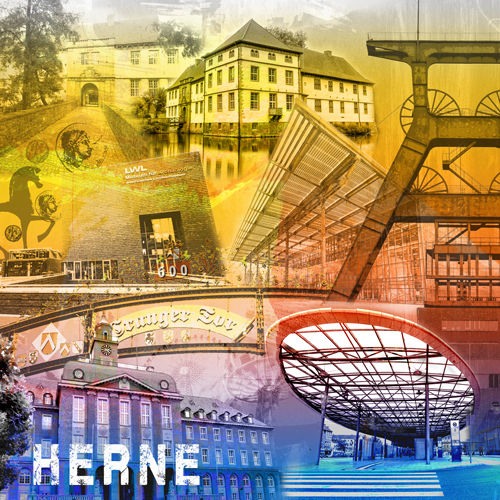 Herne Collage regenbogen