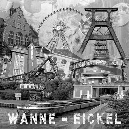 Wanne Eickel Collage sw