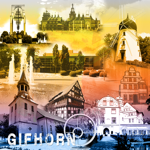 Gifhorn Collage regenbogen