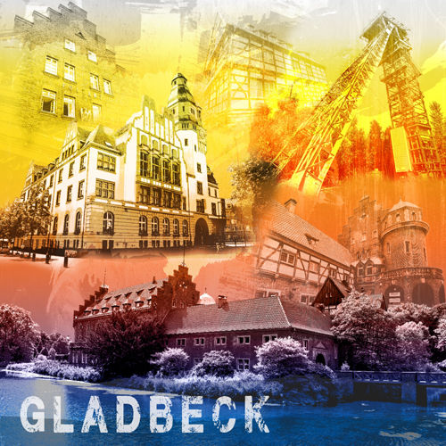 Gladbeck Collage regenbogen