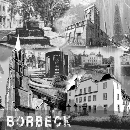 Essen Bordeck Collage sw