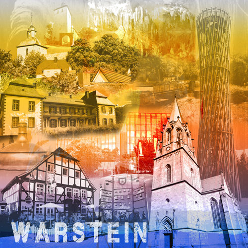 Warstein Collage regenbogen