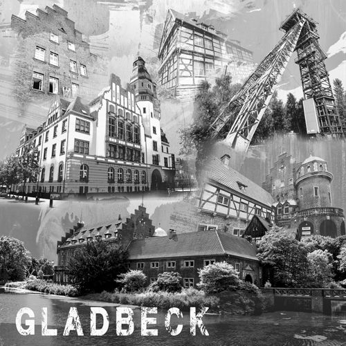 Gladbeck Collage sw